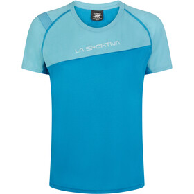 La Sportiva Catch T-Shirt Dames, neptune/pacific blue